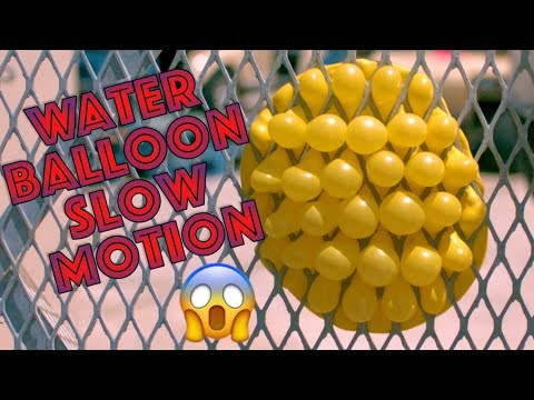 Water Balloons Look AMAZING in Slow Motion Vol 2