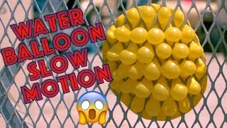 Water Balloons Look AMAZING in Slow Motion! (Volume 2)