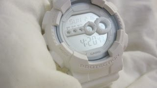 e26eb050dfe5 Casio G-Shock GD-100WW-7ER Whiteout Digital Watch ...
