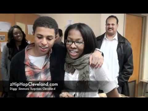Diggy Simmons Surprises Cleveland School Of The Arts