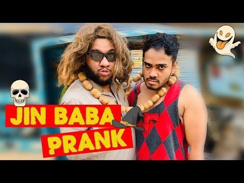   JINN BABA PRANK   By Nadir Ali & Ahmed Khan In   P4 Pakao   2019
