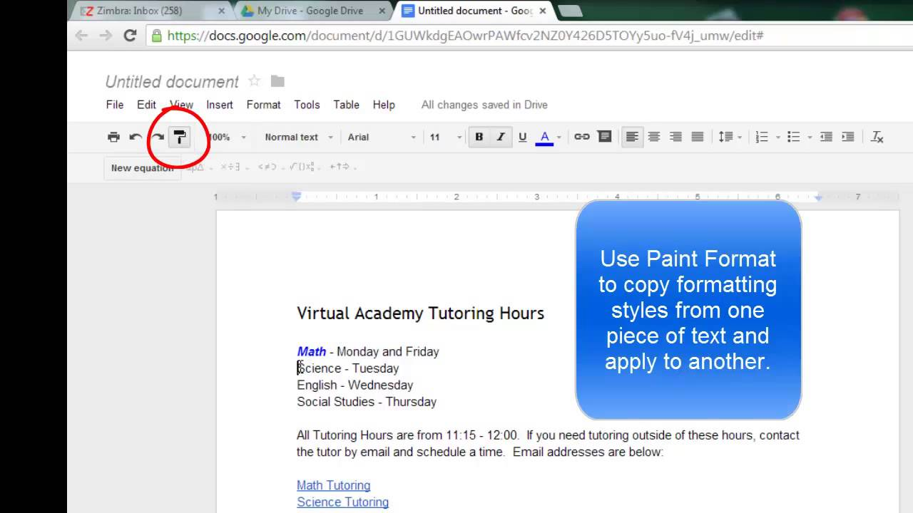 Google Documents - Word Processing in the Cloud - YouTube