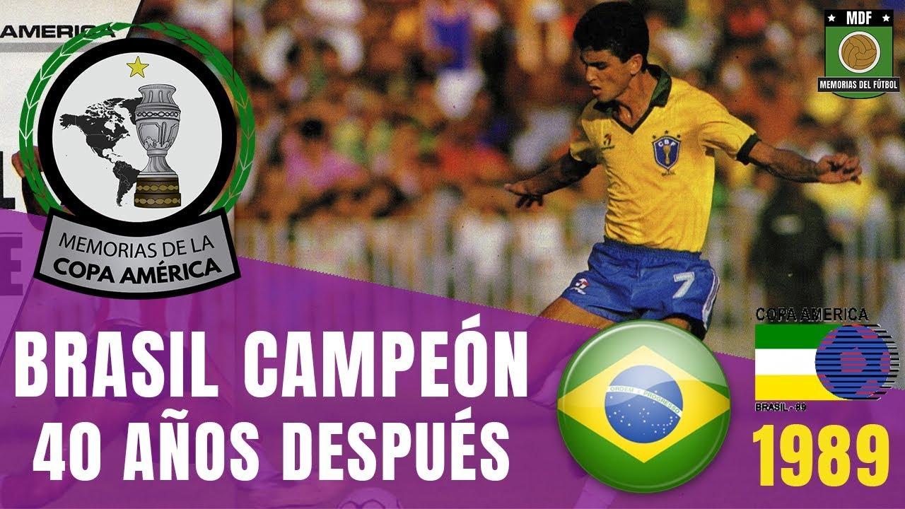 ▷ Copa América Brasil 1989 | Bebeto y Romário evitan otro Maracanazo