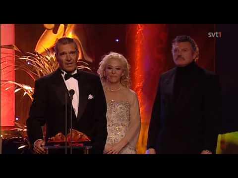 Kjell Bergqvist tacktal från Guldbaggegalan 2010