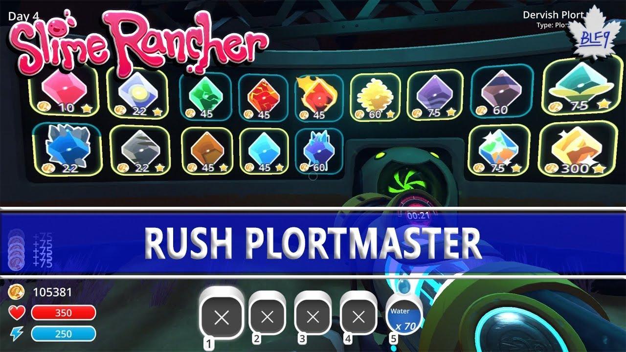Slime Rancher - Rush Plortmaster Achievement Guide