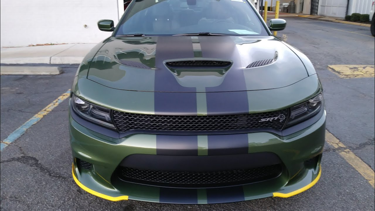 2018 dodge charger hellcat f8 green youtube. Black Bedroom Furniture Sets. Home Design Ideas