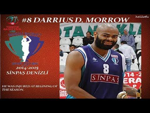 Download Darrius D. Morrow 2014-2015 Sinpaş Denizli Basket TBL