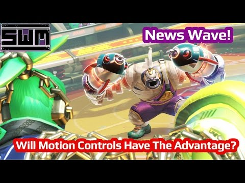 News Wave! - Arms Controls Detailed...Will Motion Controls Have The Advantage?