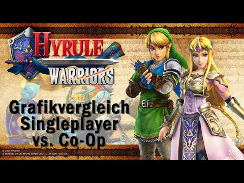 Hyrule Warriors Wii U Graphics Comparison 1 Player Co Op Youtube