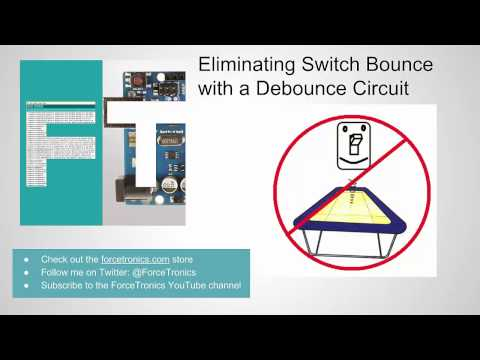 Eliminating Switch Bounce with a Debounce Circuit