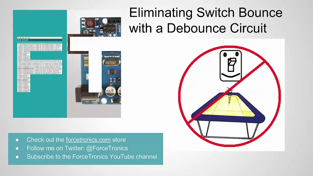 Switch Debounce Circuit Diagram Trusted Schematics Desolator Latching Relay Eliminating Bounce With A Youtube Ckt And Gates