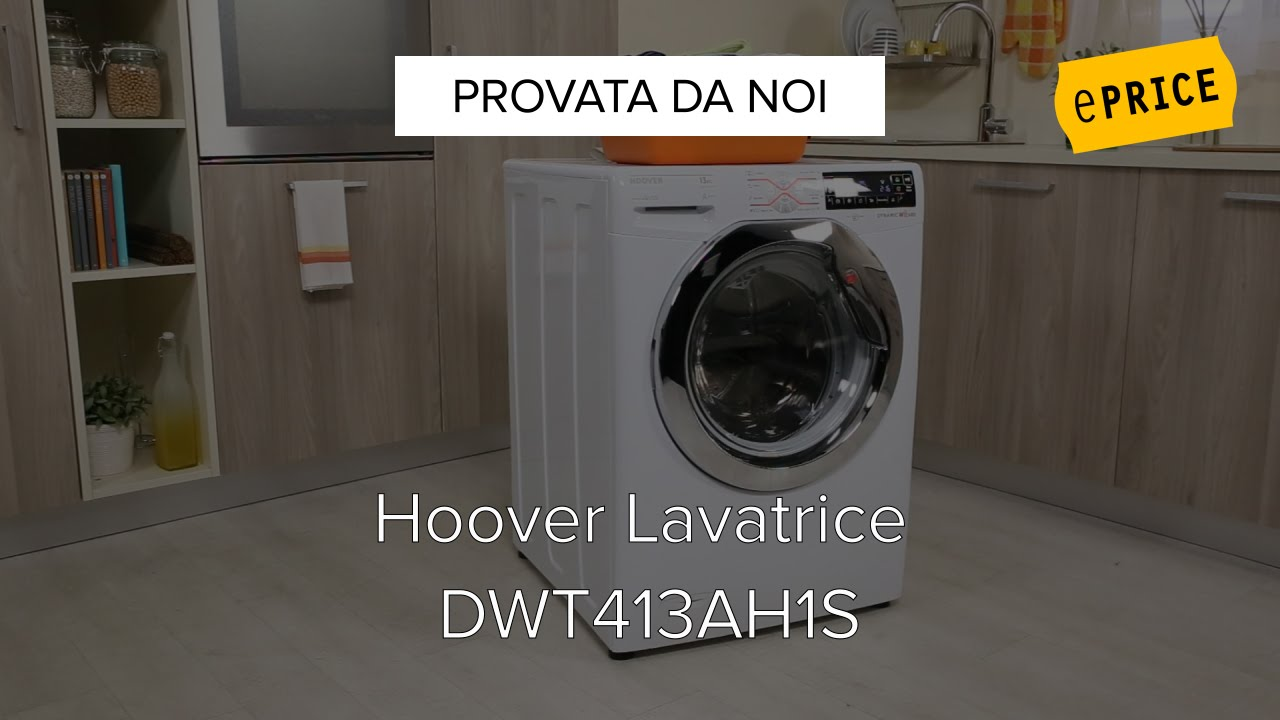 Video Recensione Lavatrice Hoover Dwt413ah1s