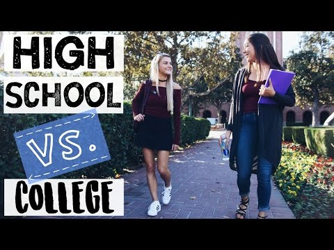 HIGH SCHOOL VS COLLEGE SITUATIONS