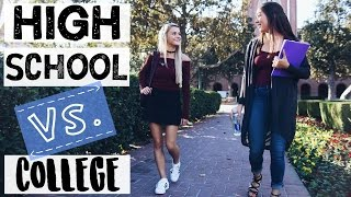 HIGH SCHOOL VS COLLEGE SITUATIONS thumbnail