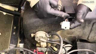 Yamaha G9 Golf Cart Ignitor | How to Install