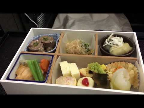 Japan Airlines Business Class on B777-300ER Los Angeles to Tokyo Narita JL61