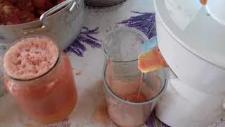 Пей дружок томатный сок.(заготовка сока на зиму.)