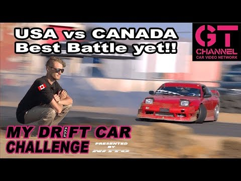 Drove Down From Canada To Battle! My Drift Car Challenge Eps.5 Presented By Nitto