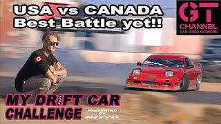 video thumbnail of Drove Down from Canada to Battle! My Drift Car Challenge Eps.5 Presented by Nitto