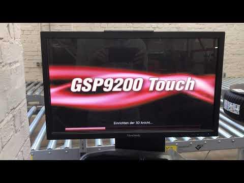 Neustart Wuchtmaschine GSP9200