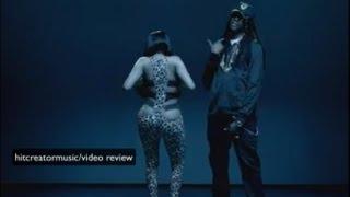 nicki minaj beez in the trap ft 2 chainz music video review