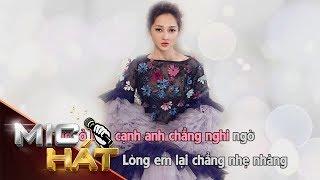 Trái Tim Em Cũng Biết Đau   Bảo Anh ft Mr.Siro   Karaoke
