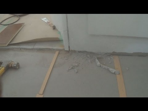 How To Install Engineered Hardwood Flooring On Concrete