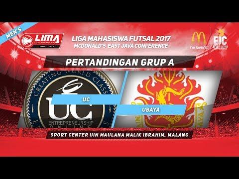 UC vs UBAYA  di LIMA Futsal McDonald's East Java Conference 2017 (Men's)