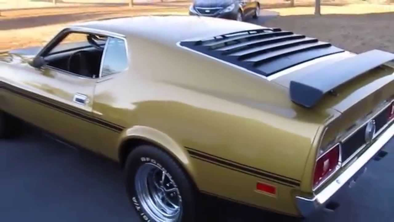 Old high school ride, a \'72 Mustang Mach 1, gets new life - YouTube