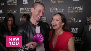 Ashley and JP Rosenbaum at the 'Marriage Boot Camp' and 'L.A. Hair' Premiere