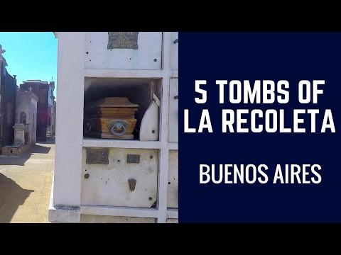 5 Tombs Of La Recoleta  | Joe Journeys