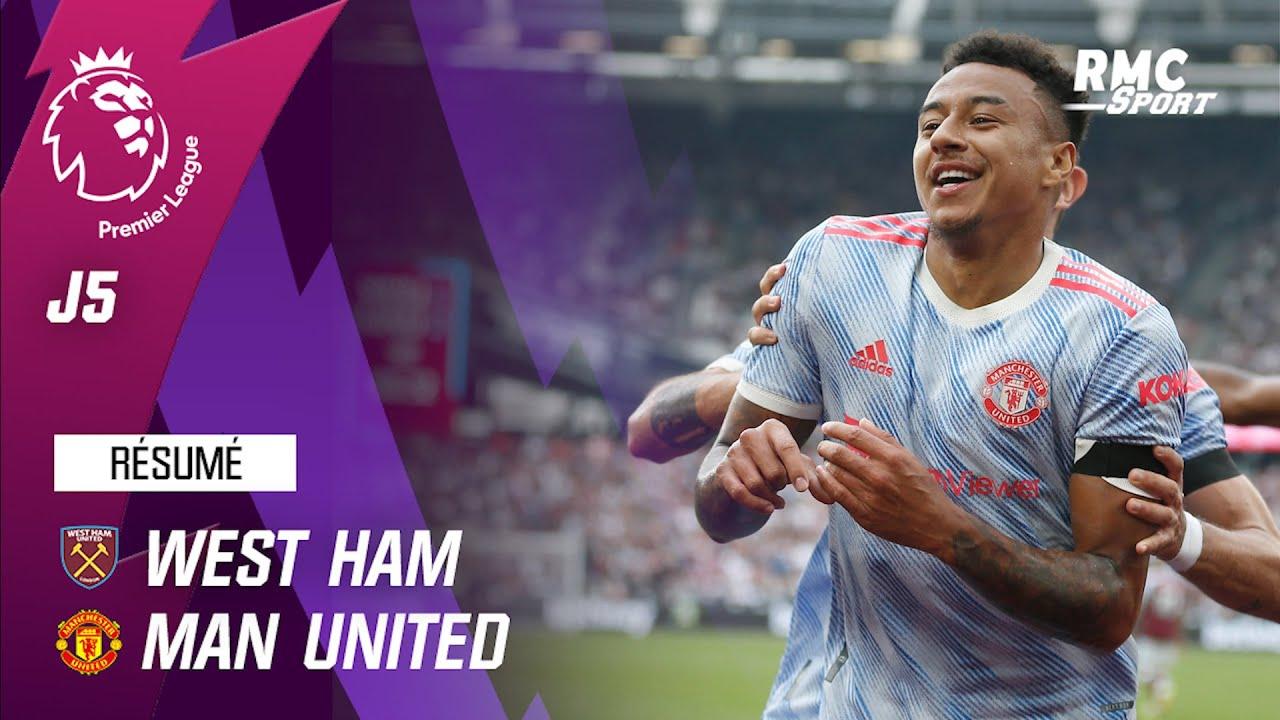 Download Résumé : West Ham 1-2 Manchester United - Premier League (J5)