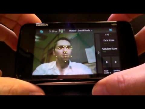 Real-time face tracking on the Nokia N900 mobile phone (alternative)