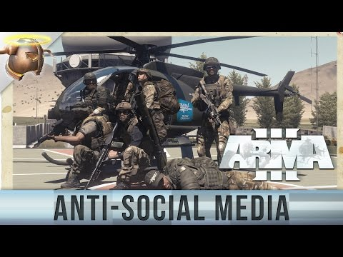 """""""Anti-Social Media"""" ARMA 3 Special Forces custom mission by EvilViking13"""