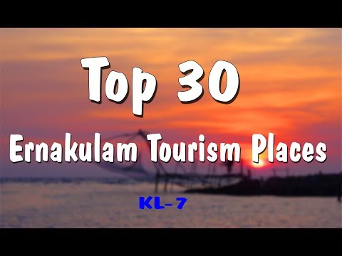 Ernakulam Tourist Places Top 30 #Ernakulam #FortKochi #Mattancherry #Marine Drive