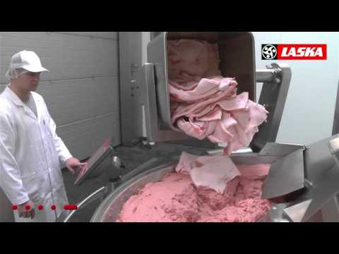 Laska Cutter Boiled Sausage Production ESK Grupp