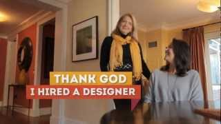 Designer makes an old room new again with color - Thank God I Hired a Designer video Thumbnail