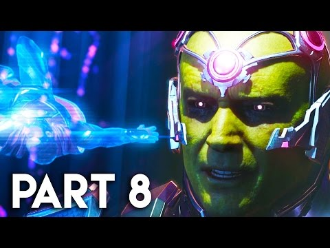 Injustice 2 Gameplay Walkthrough Part 8 - STORY MODE CHAPTER 9 (PS4 PRO)