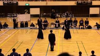 茨城新聞社旗争奪全国選抜高校剣道大会2013