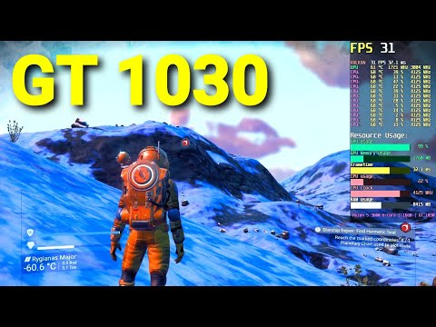 No Man's Sky (Companions Update) | GT 1030 | FPS Test |