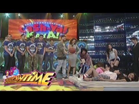 It's Showtime Cash-Ya: Team Nadine tries the Cash-Ya challenge!