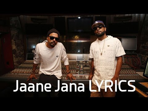 Bohemia Jaane Jana LYRICS | J.Hind, Shaxe Oriah | Latest Song 2017