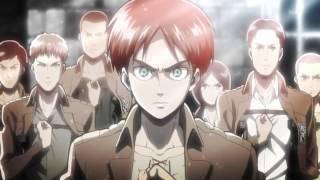 Shingeki no Kyojin 進撃の巨人 OP  Opening : Guren no Yumiya: Linked Horizon