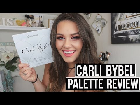 NEW BH Cosmetics x Carli Bybel Palette Review, Swatches & Tutorial!!