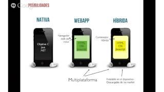 Webinar: Tengo una idea para una aplicación móvil, ¿app nativa o híbrida?