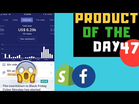 $6,209 Per Day Niche Product - My Winning Setup Formula For Shopify Dropshipping thumbnail