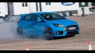 Ford Focus RS - z każdego zrobi mistrza driftu