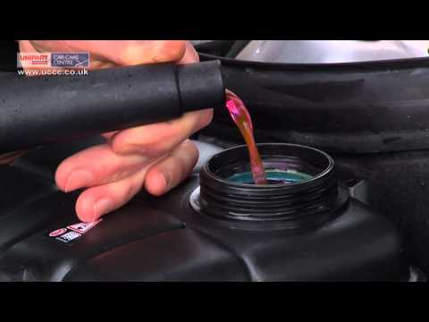How to top up your cars engine coolant - FREE Video guide