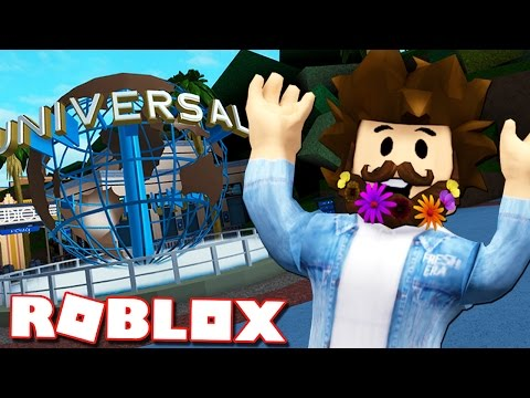 JOEY GOES TO UNIVERSAL STUDIOS IN ROBLOX!