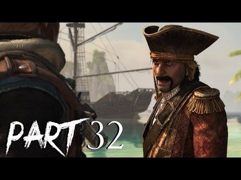 Assassin's Creed 4 Black Flag Gameplay Walkthrough Part 32 - Royal Misfortune